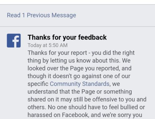 Same Day Facebook Claimed To Remove Page Harassing Sandy Hook Victims, Facebook Reported Page Wasn't In Violation