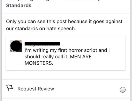 Don't Make Jokes About Script Titles On Facebook