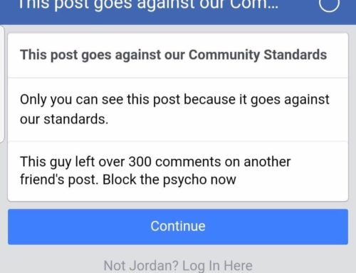 Warning Women About Serial Trolls On Facebook Is Against Community Standards