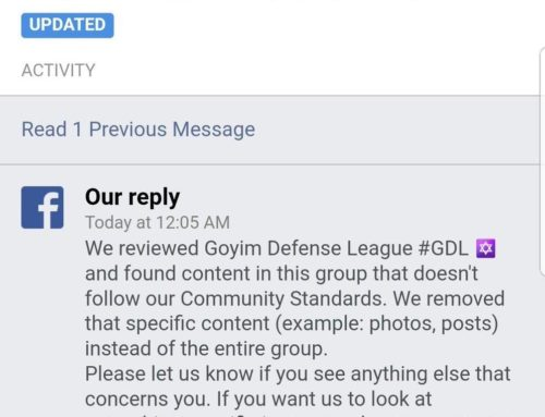 A Known Hate Group Is Still Allowed On Facebook