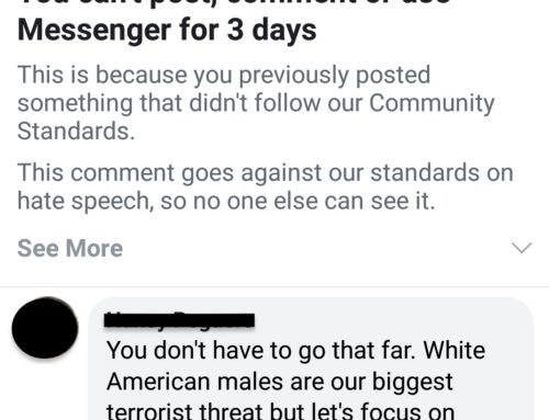 Hard To Have Discussions On Facebook When Facebook Keeps Silencing Only One Side Of The Topic Discussed