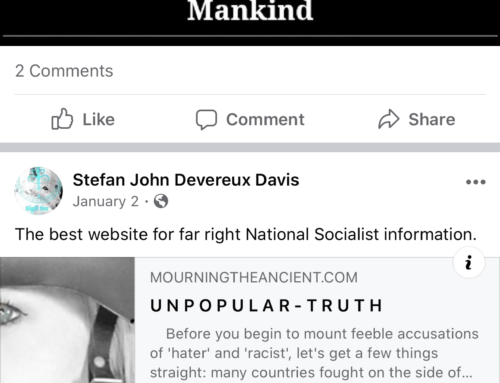 Facebook Allows Users To Post Amount Mass Murder & Being A White Supremacist